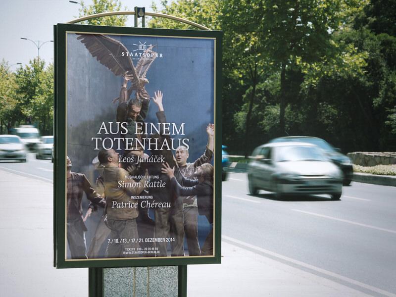PlakatgestaltungVivien Anders & Judith Gärtner nach dem Corporate Design von BOROS