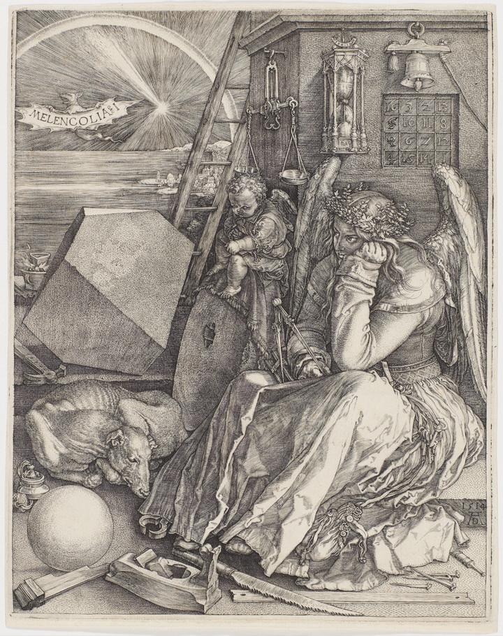 Albrecht DürerMelencolia I(1514)