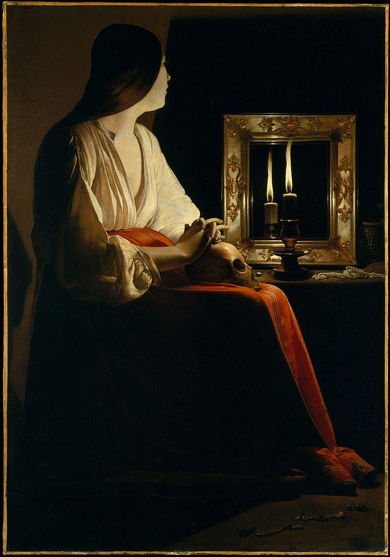 Georges de La TourLa Madeleine à la flamme filante(1638–1640)