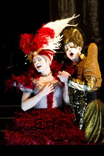 Artaserse2012 an der Opéra national de Lorraine mitPhilippe Jarousskyals Artaserse undMax Emanuel Cencicals Mandane · Foto Julian Laidig