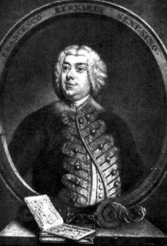 Alexander Van Haecken: Porträt des Kastraten Senesino (1735)