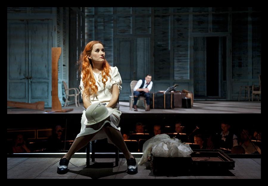 Anna Prohaska in einer aktuellen Produktion der Staatsoper Berlin,Le Nozze di Figaro ·FotoHERMANN UND CLÄRCHEN BAUS
