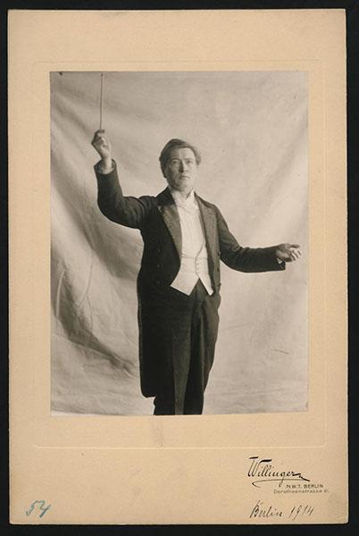 Busoni mit 48 ·FotoStaatsbibliothek zu Berlin – Musikabteilung mit Mendelssohn-Archiv· Weitere Informationen