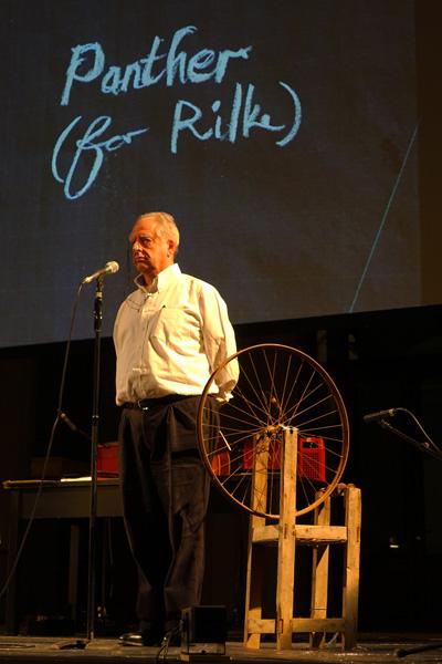 William Kentridge auf der Bühne
