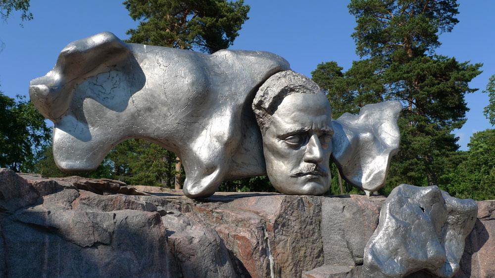 DasSibelius-Denkmal in Helsinki.Es liegt im Sibelius-Park im Stadtteil Töölö •Foto:Christine(CC BY-SA 2.0)