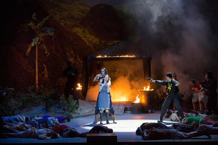Jean-Philippe RameauLes Indes galantes;Inszenierung von Laura Scozzi am Staatstheater Nürnberg • Foto ©LUDWIG OLAH