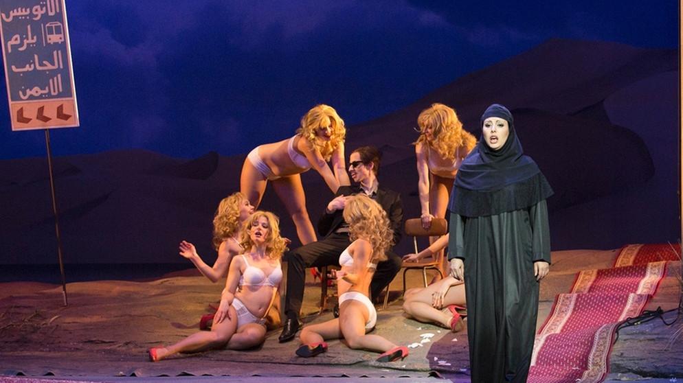 Jean-Philippe Rameau Les Indes galantes; Inszenierung von Laura Scozzi am Staatstheater Nürnberg • Foto ©LUDWIG OLAH