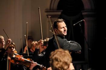 Mit Beginn der Spielzeit 2018/19 wird Teodor Currentzis der erste Chefdirigent des SWR Symphonieorchesters. © SWR/Anton Zavjyalov