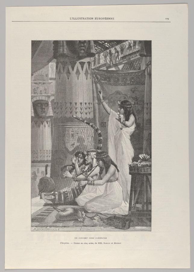 Robert François Richard Brend'amour,Un Concert Chez Cléopatre