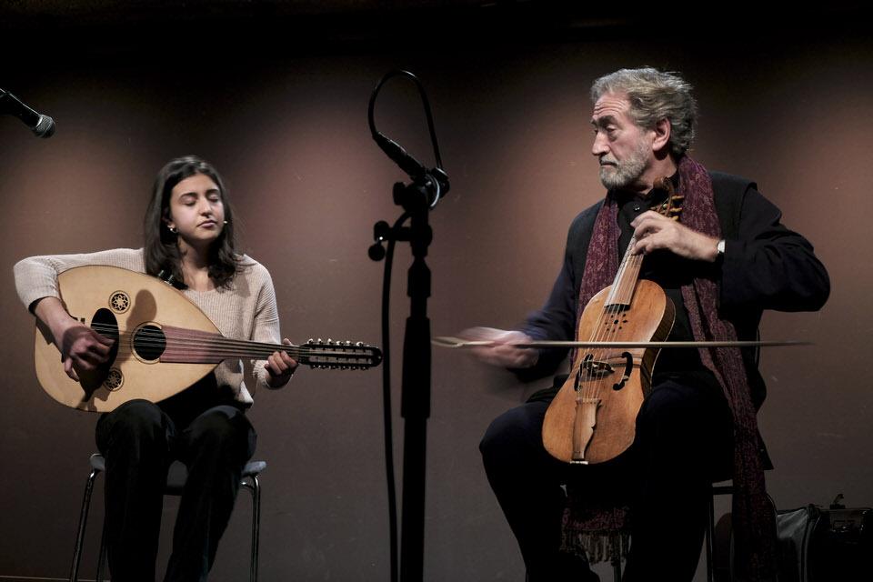 Derya Yildirim und Jordi Savall