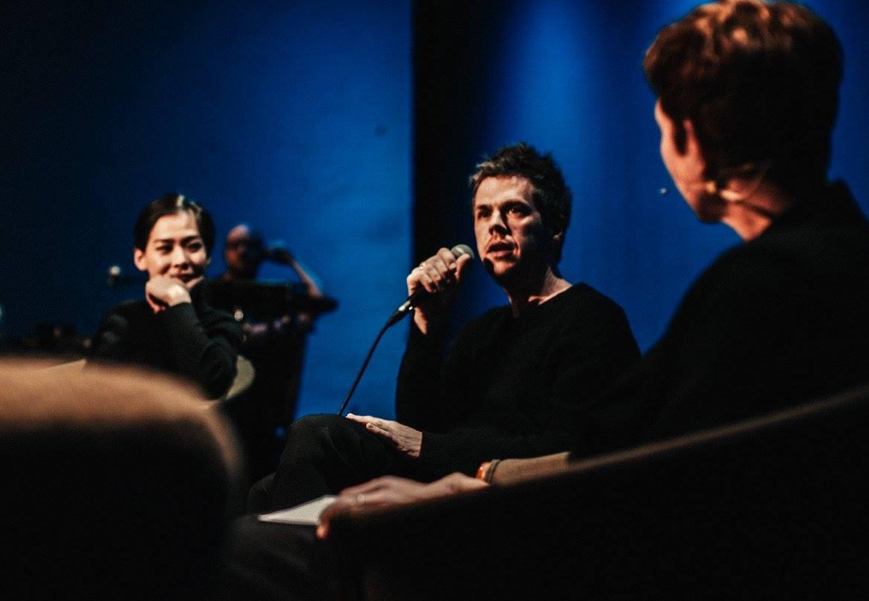 Saerom Park (Solocellistin und Pianistin) und David-Maria Gramse (Geiger), beide vom Ensemble Resonanz.