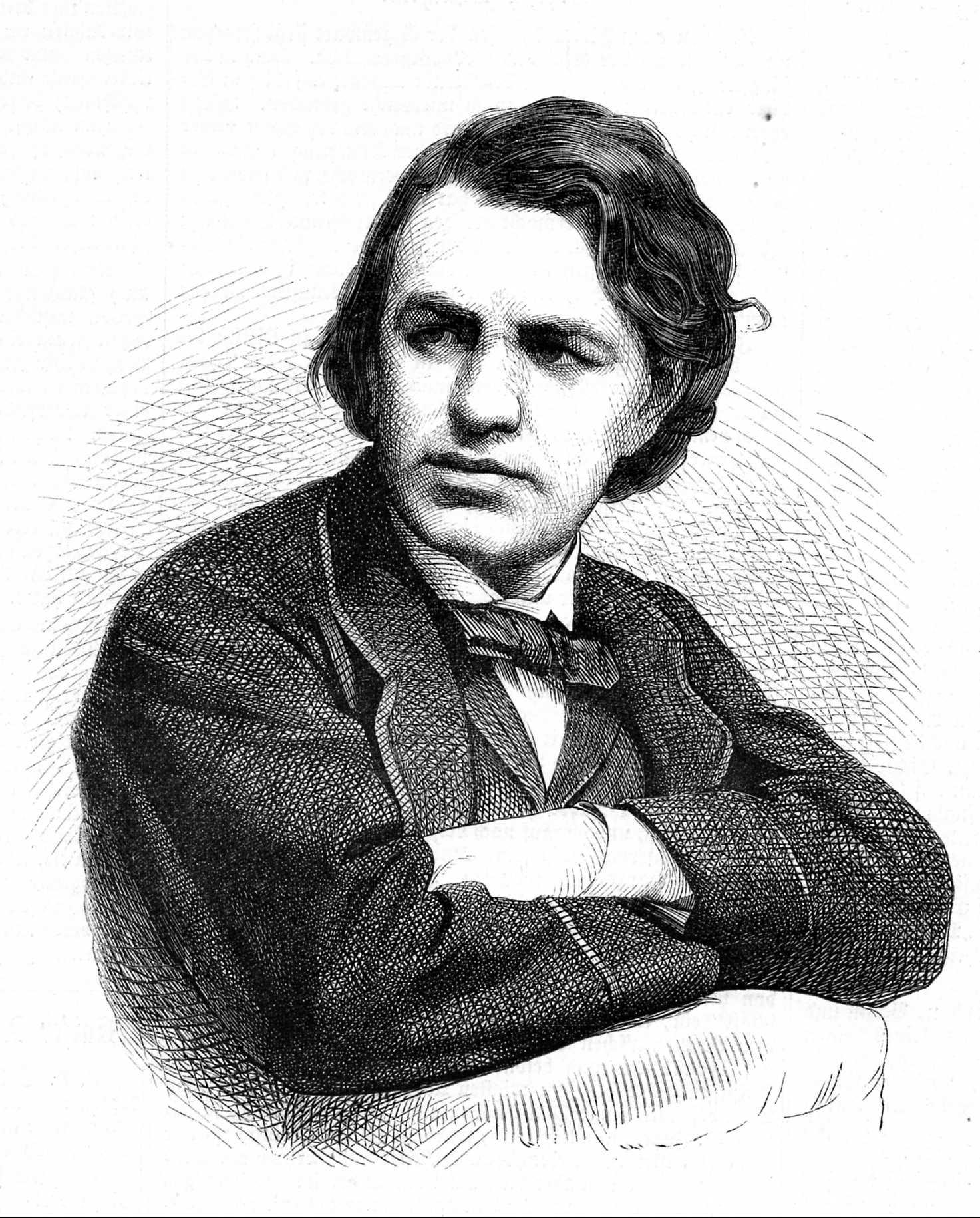Joseph Joachim, Kupferstich um 1866. © Archiv der Universität der Künste