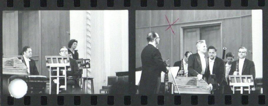 Ansage vor dem Konzert, 29.05.1969 • Foto Reinhard Friedrich / Archiv Berliner Philharmoniker