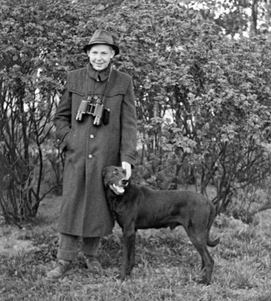 Michael Succow wuchs auf einem Bauernhof in Brandenburg auf. Hier 1957 beim Hüten der Schafherde seiner Eltern.