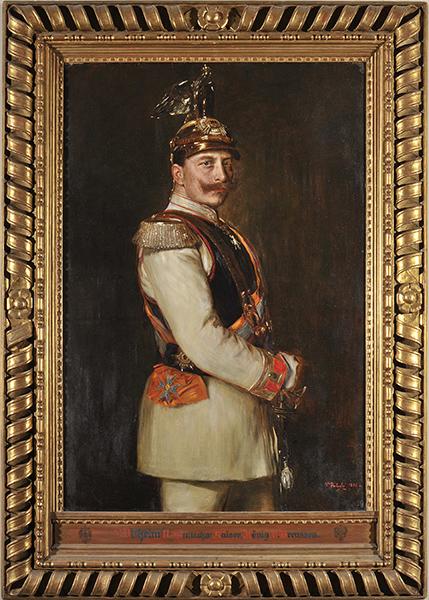 Vilma Parlaghy, Porträt Kaiser Wilhelm II., 1895, Öl auf Leinwand, © Staatliche Museen zu Berlin, Nationalgalerie / Andres Kilger