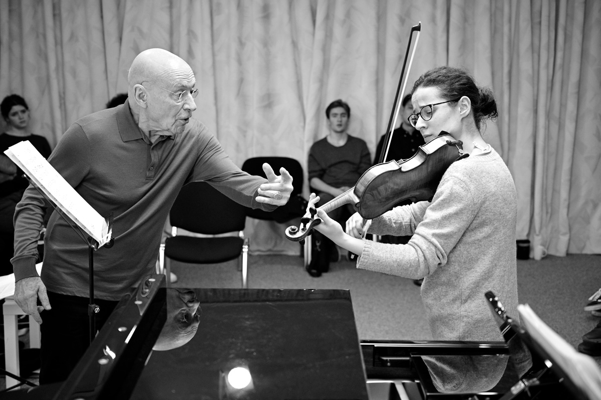 Christoph Eschenbach und Marie-Astrid Hulot