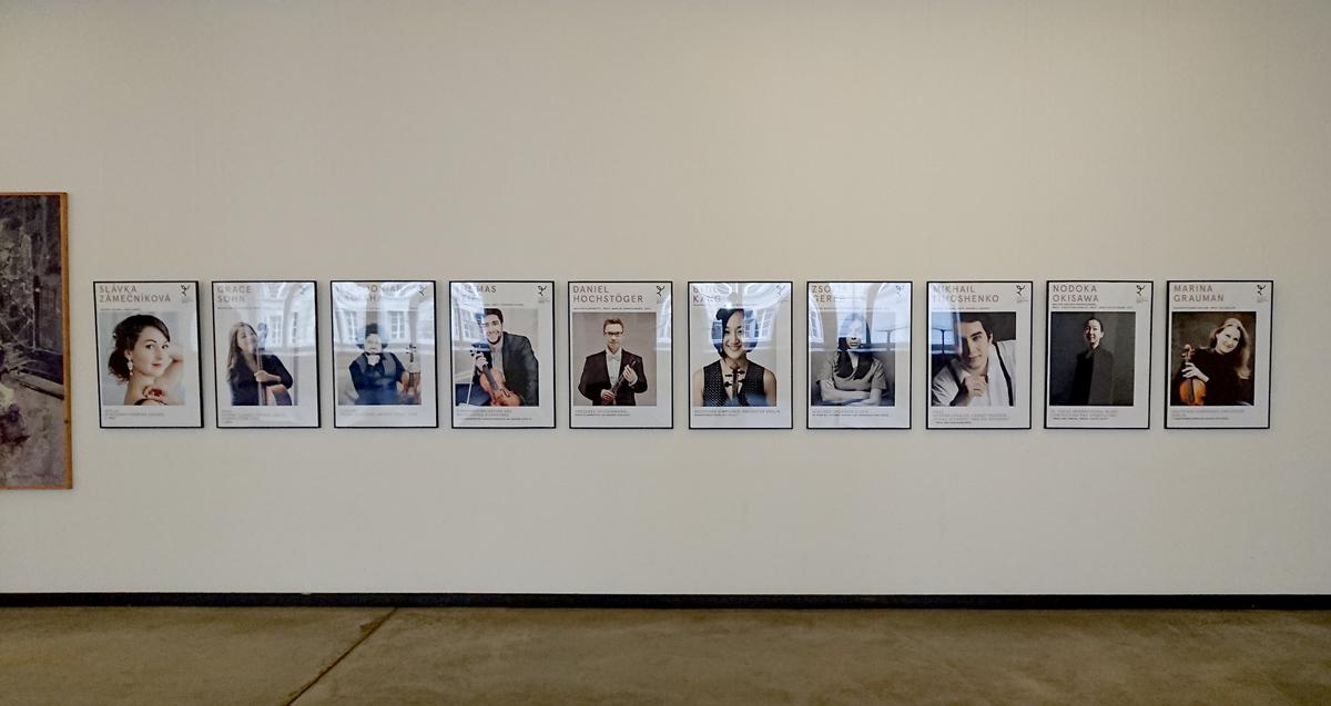 Die Wall of Fame im Neuen Marstall – vor dem Umdrehen