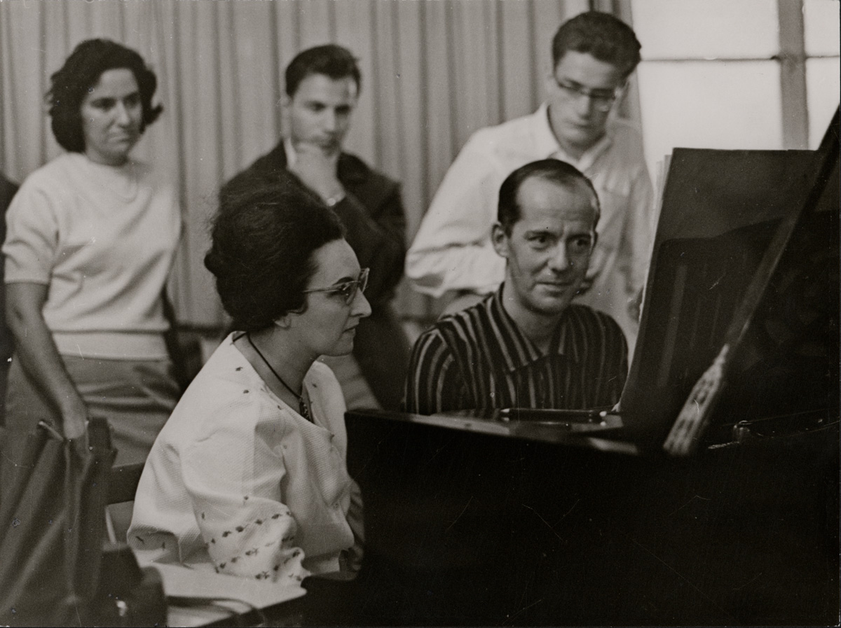Seminar Loriod (vermutl. 1961) • Foto ©IMD-Archiv / Hans-Kenner
