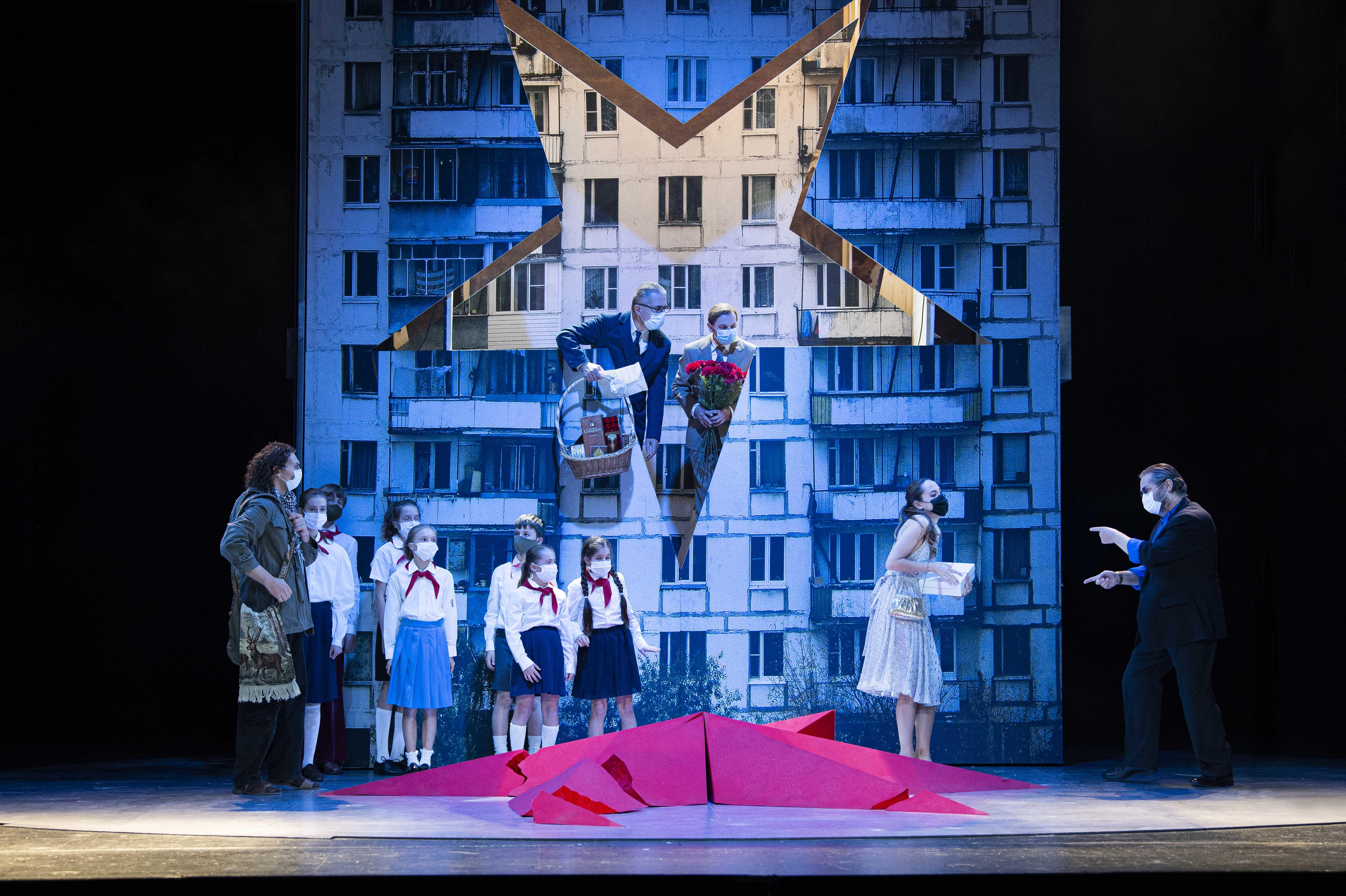 Szenenfoto aus der OperMazeppa •Foto©Marlies Kross