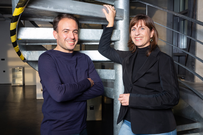 Friederike Hofmeister und Matthias Mohr • Foto © Andre Wunstorf