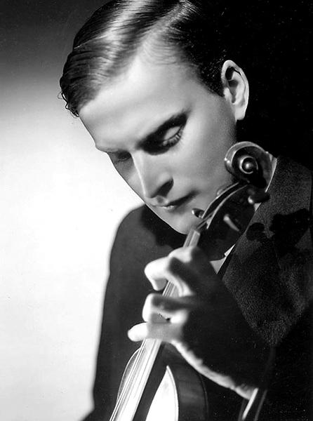 Uraufführungsinterpret Yehudi Menuhin (1943) • Foto Wikimedia Commons (Public Domain)